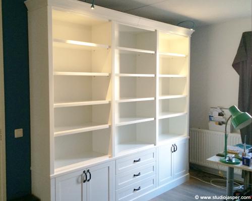 Boekenkast op maat gemaakt - Meubel - Projecten - Studio Jasper ...